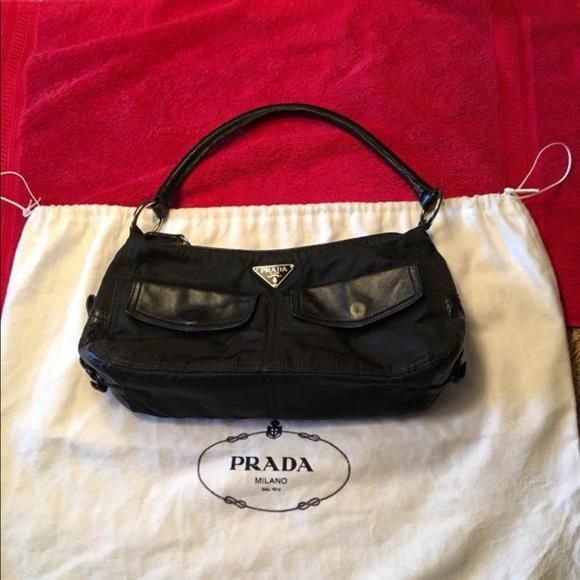 08cdfcab07f9 Bags | Prada Handbag Br1511 Tessuto Bufalo | Poshmark